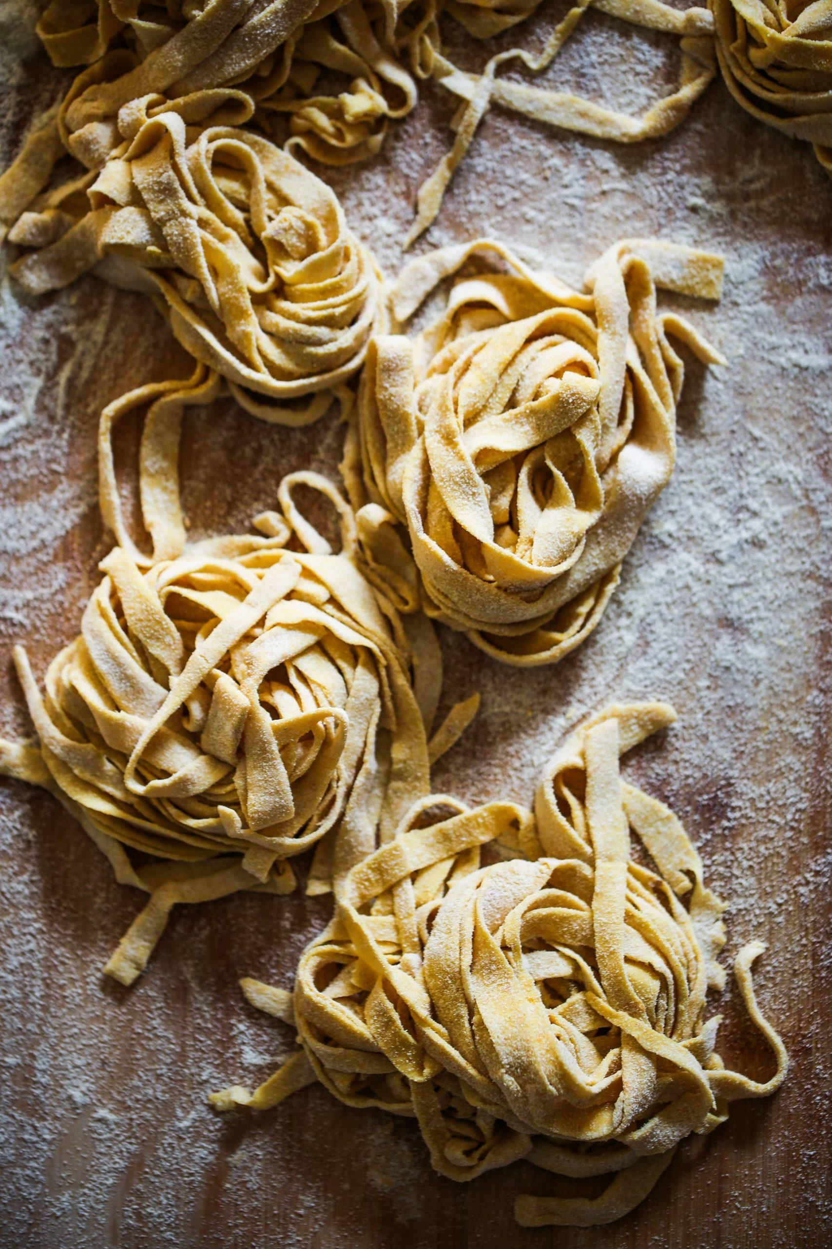 rolled pasta lingunie